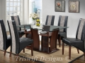TS Elsa Glass Dining Set ( 1+6 )
