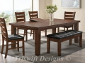 TS Garrison Dining Set ( 1+6 )