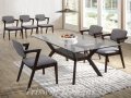 TS Kona Glass Dining Set ( 1+6 )