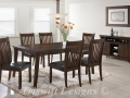 TS Richwoods Dining Set ( 1+6 ) + Server