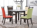 TS Tommy Glass Dining Set ( 1+4 )