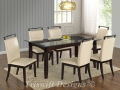 TS Tommy Glass Dining Set ( 1+6 )